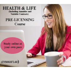 Florida: 60 hr 2-15 Health and Life Insurance Pre-Licensing course (including Annuities and Variable Contracts)