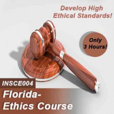 Florida:  3 hr All Licenses CE - Online Ethics Course